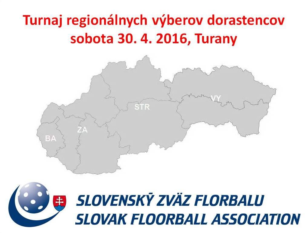 ff6950c7c298f Turany budú zajtra dejiskom historicky prvého turnaja regionálnych výberov  dorastencov, ktorý organizuje Slovenský zväz florbalu. Na tomto podujatí sa  zídu ...